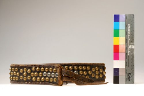 [Petsini zona] or [louri], leather belt ornamented with decorative studs